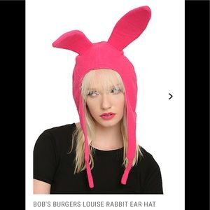 9851f33d27e Hot Topic Accessories - Bobs Burgers 🍔Louise Rabbit Ear Hat